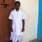 Persiyal in her uniform
