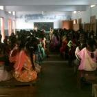 Riunione sostegno a distanza Azhagappapuram