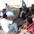 visita agli sfollati dello Tsunami2