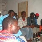 Riunione con i volontari di Toubab Dialaw