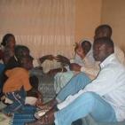 casa di uno dei volontari senegalesi di Saint Louis