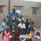 gruppo di bambini sostenuti