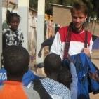 incontro con i bambini all'interno della scuola a Saint Louis 2