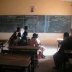 interno di una delle classi della scuola a Saint Louis