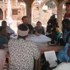 riunione con i volontari di Toubab Dialaw sulla campagna StopMalaria